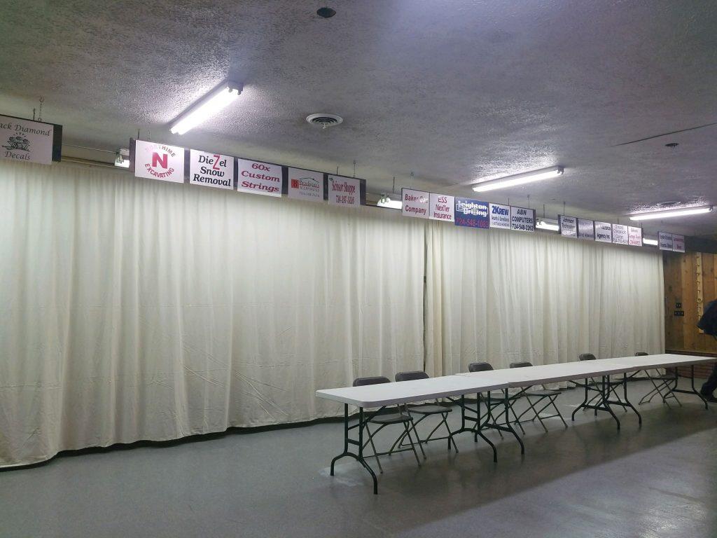 New Archery Curtain | Burnt Ridge Bow & Gun Club