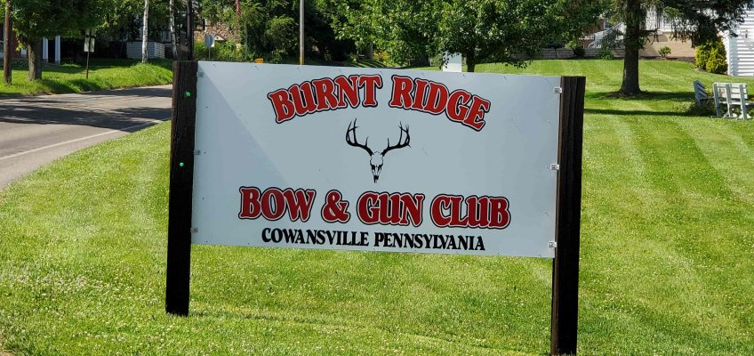 Burnt Ridge Club Sign