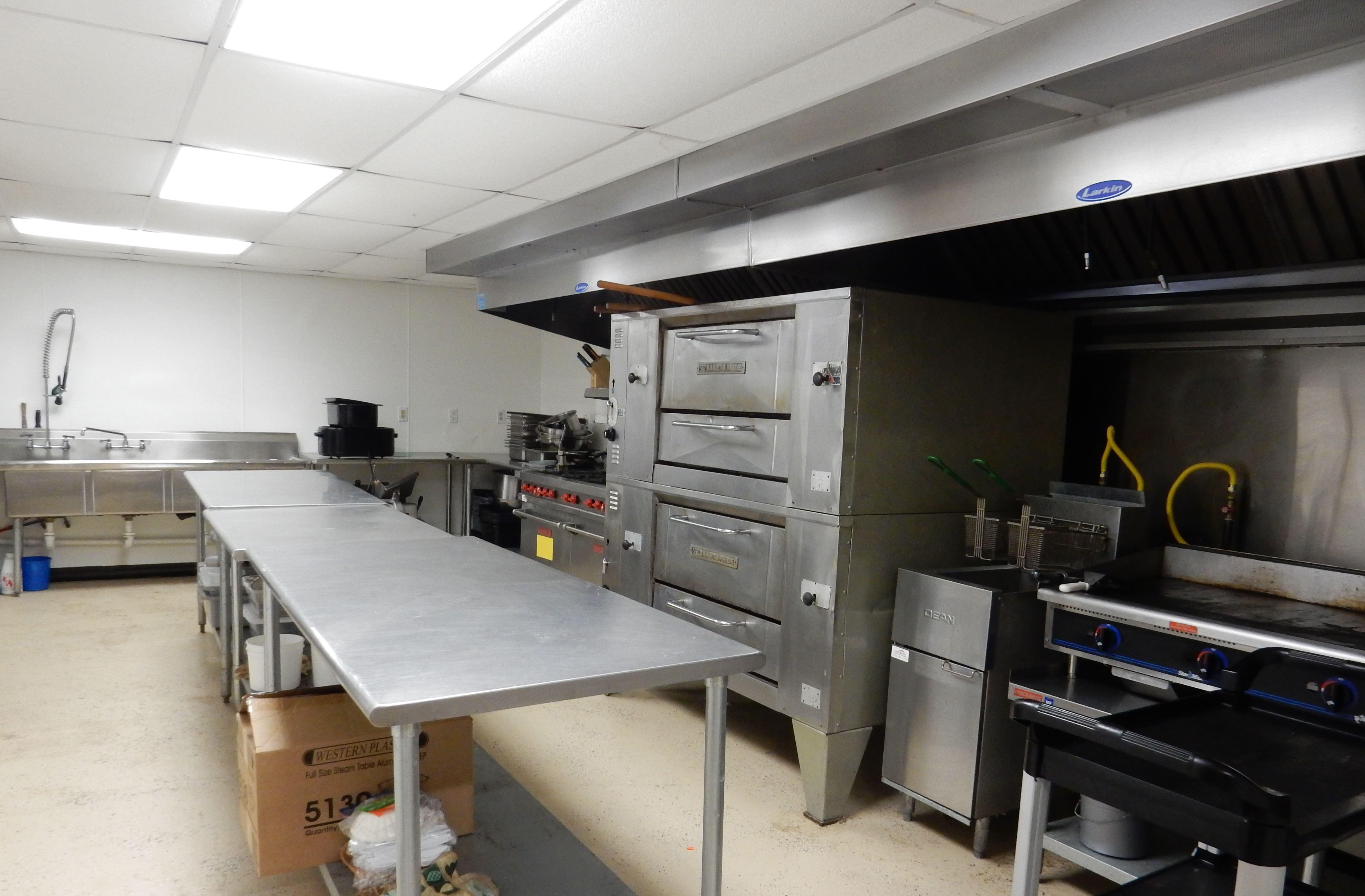 Burnt Ridge Bow & Gun Club Kitchen Facilities