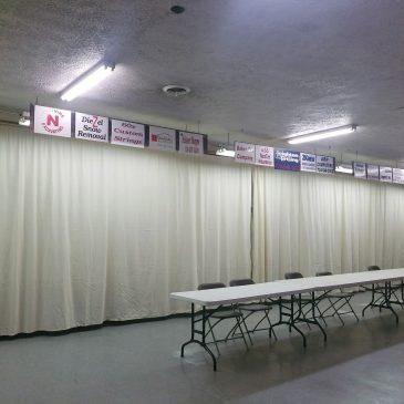 New Archery Curtain