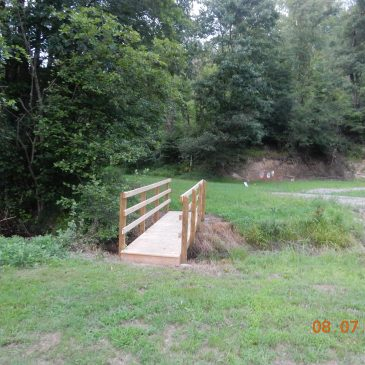 Foot Bridge Finished