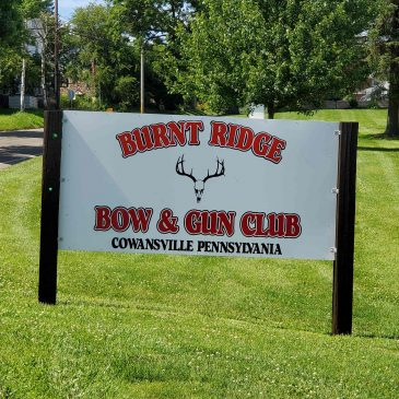 New Club Sign Erected